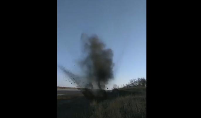 Под Николаевом взорвалась граната (фото) (видео)