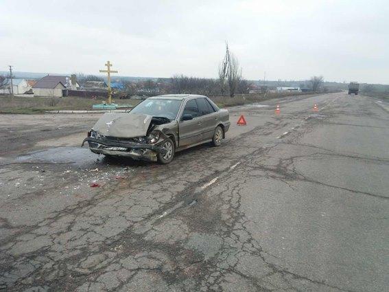 ДТП в Николаевской области: есть пострадавшие (фото)